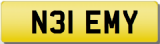 EMILY 30 Private Registration Cherished Number Plate EMY